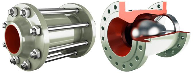 Осесимметричные клапана