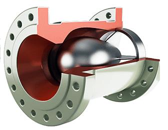 Осесимметричный клапан